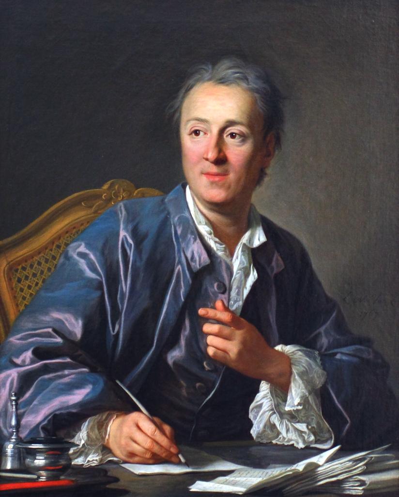 Où vivait Denis Diderot