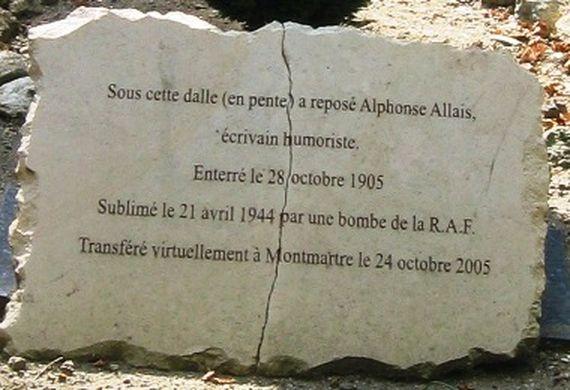 la vie d'Alphonse Allais